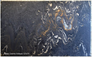 COSMIC BLACK ANTIQUE GRANITE