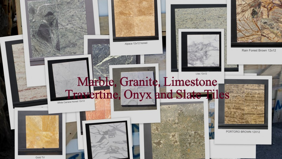 Granite Marble Limestone Travertine Onyx Slate Tiles